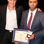 Saad (R) - nominated for Adult Volunteer of the Year