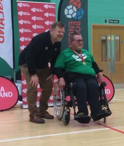 Anton winning gold
