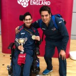Reshad and Sunil are both delighted!