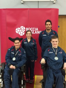 The PACE Boccia Medallists