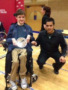 Alex claims BC1 silver at the GB Championships